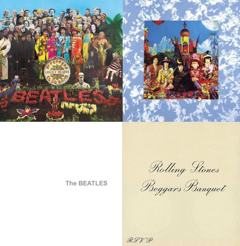 Under the Influence – How the Beatles Influenced the Rolling